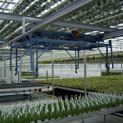 Overhead Crane - Greenhouse Automation - TAVA Systems