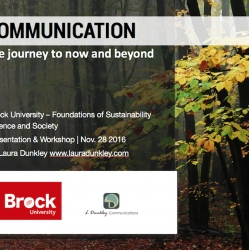 Presentation - Brock University Communications Presentation