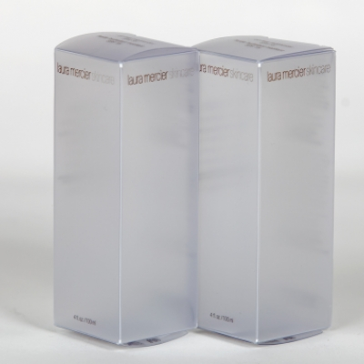 Transparent pet, pvc, apet, rpet or pp folding printed box