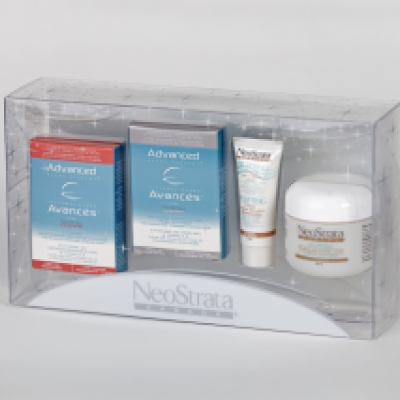 Combo pack gift set printed transparent packaging