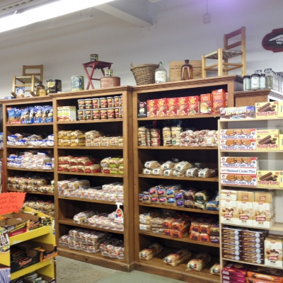 Dry goods and bread.