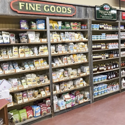 We carry a wide range of specialty and local products.