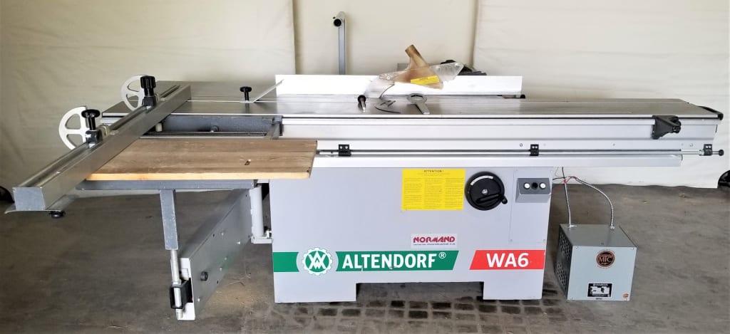 Used 2005 Sliding Table Saw Altendorf Wa6 Ref 1918bm