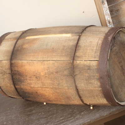 Wine Barrel Money Box
