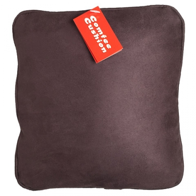 Comfee Cushion - Brown MicroSuede
