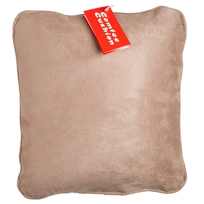 Comfee Cushion - Tan MicroSuede