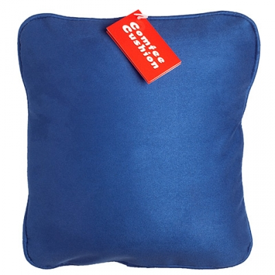 Comfee Cushion - Blue MicroSuede