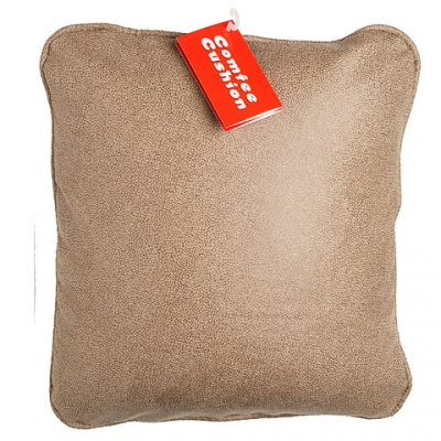 Comfee Cushion - Tan Crackle