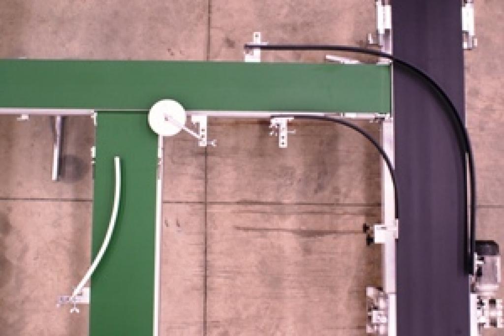 Portable Belt Conveyor | TAVA Systems | Greenhouse Automation