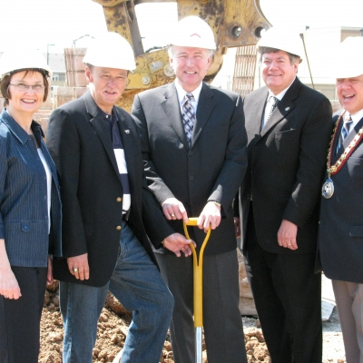 2009 Kenmore Court Groundbreaking
