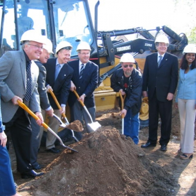2006 Capital Campaign Ground Breaking