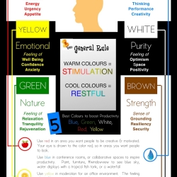 Infographic - Psychology of Colour