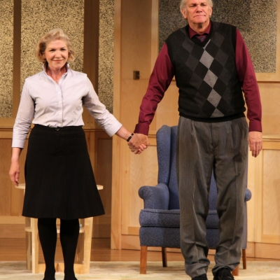Patricia Vanstone and Norm Foster