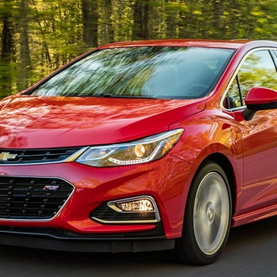 #8 | Chevrolet Cruze | Price as tested $23,145