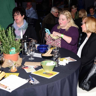 Guests Enjoying the 12th Annual Empty Bowls