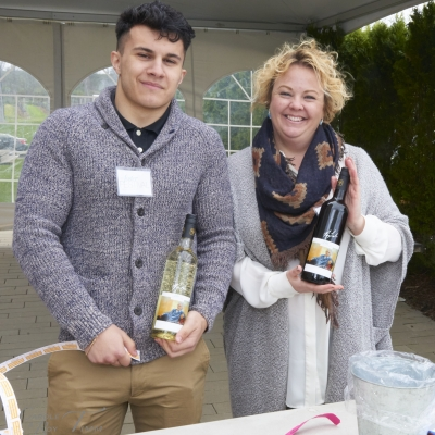 Christopher Battagli and Kim Cota, Spring Picnic Fundraiser 2016