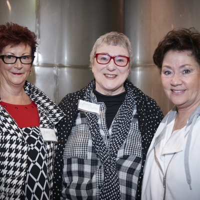 Board Members Deb Slade, Rosemary Hale and Candice Turner-Smith