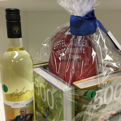 Cook Books & Foster Festival Wine signed by Norm Foster