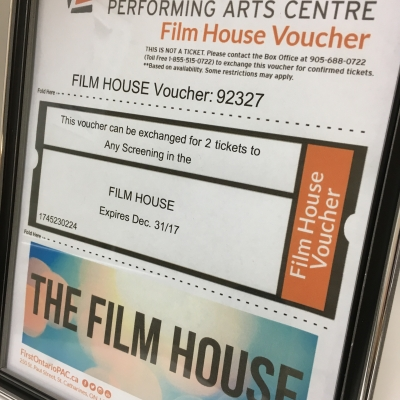 FirstOntario PAC Film House Tickets