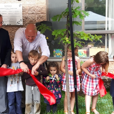 Grand Opening of the Bethlehem Place Family Park