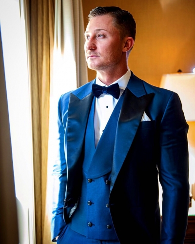 Custom Wedding Suit, King & Bay, Toronto
