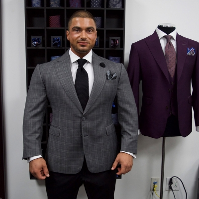 John Aiello, Mens Custom Suits, Toronto