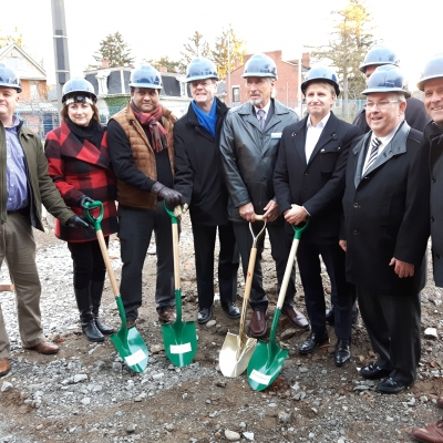 Affordable Housing Development - Groundbreaking Event