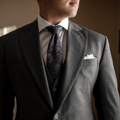 Custom Wedding Suit From King & Bay