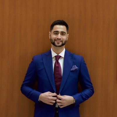 Nishant Raina Wears a King & Bay Suit