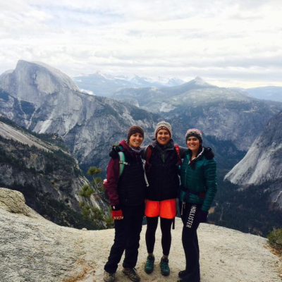 Yosemite National Park with Sisters, 2016