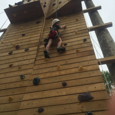 Climbing the New Rock Wall