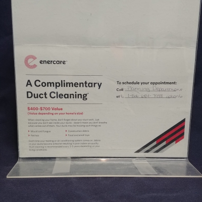 Duct Cleaning Provided by Enercare