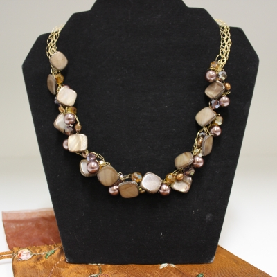 One-of-a-kind, Handmade Necklace by Sheila Wong of Wired Chic