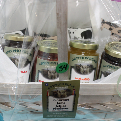 Gryphon Ridge Highlands Gourmet Jams & Glasses