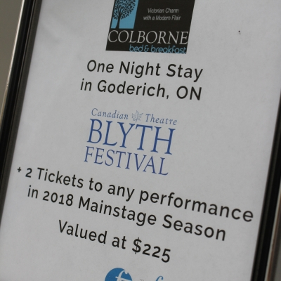 B&B + Blyth Festival Tickets 2018 Season