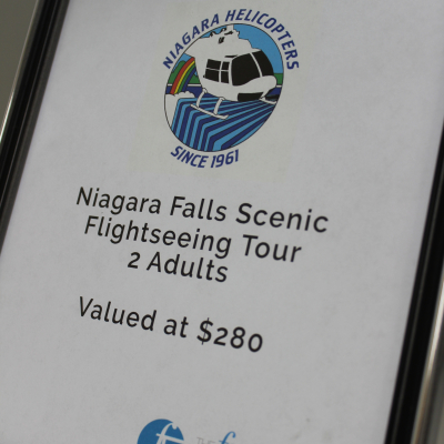 Niagara Helicopter Tour for 2 Adults
