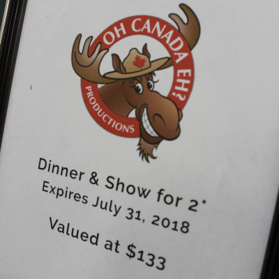 Oh Canada Eh! Dinner & Show