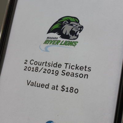 2 Courtside Tickets to Niagara River Lions, Basketball