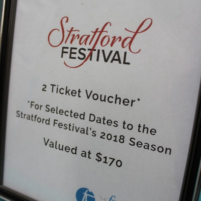 Straford Festival Tickets, 2018 Season