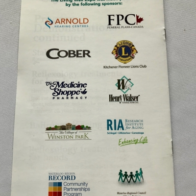Proud Sponsors of the Living Well Expo