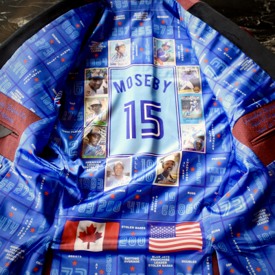 Lloyd Moseby, Custom Smoking Jacket