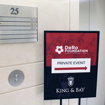 Private Events in the King & Bay Lounge