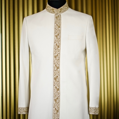 Custom Sherwani Jacket King & Bay Toronto