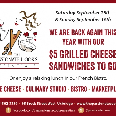 The Passionate Cook | $5 Gourmet Grilled Cheese
