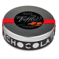 Dark Chocolate Truffles Tin ($7.95)