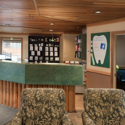 Reception Desk | Cedar Dental Centre