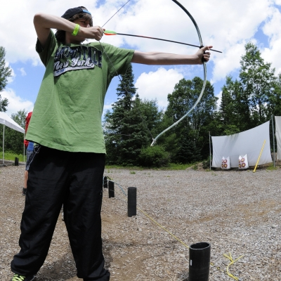 Archery, Hockey Opportunity Camp, Summer Camp, Ontario