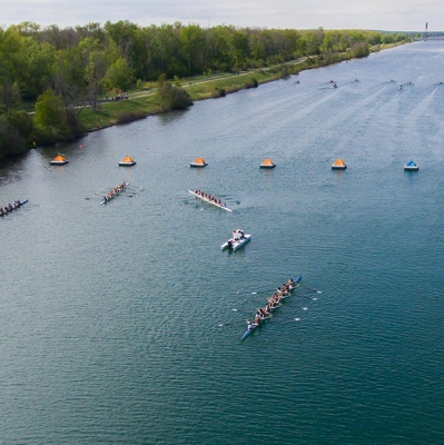 image of regatta participants