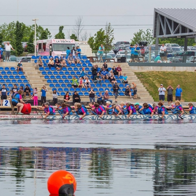 participants at the 2018 Dragon Boat Festival