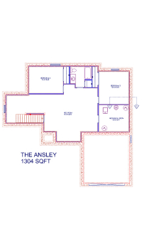The Ansley Cottage - Basement